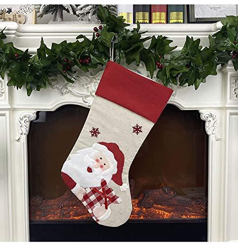 Christmas Stockings, 4 Pack 18.5\