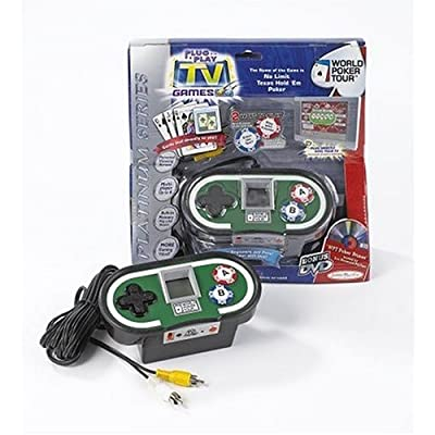 Jakks Pacific World Poker Tour TV Game: Toys & Games