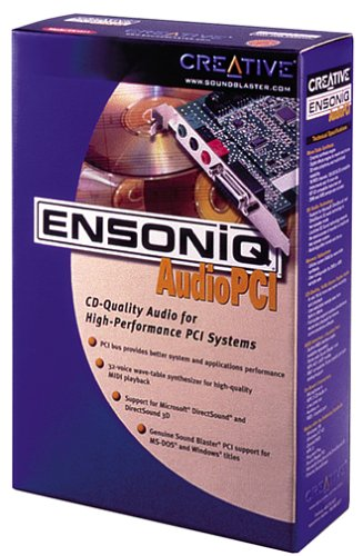 Creative Labs Ensoniq 16-Bit PCI Audio Card