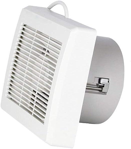 Ventilación Extractor Ventiladores extractores Extractor doméstico de bajo ruido for cocina de oficina Dormitorio Baño 6 pulgadas Tipo de ventana de pared, Ventilador de ventilación: Amazon.es: Hogar