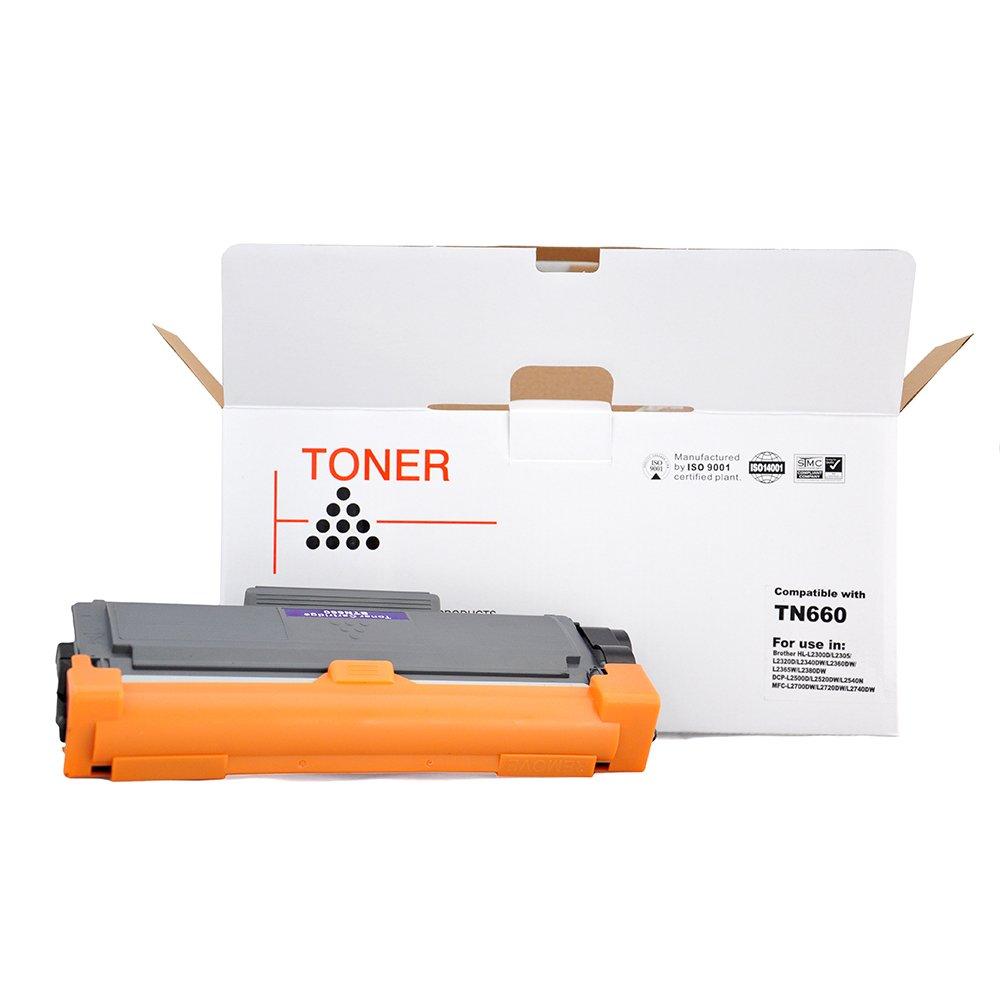 TN660 cartucho de tóner negro para HL-L2340DW HL-L2300D hl-l2380dw ...