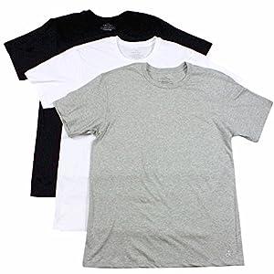 Best Epic Trends 51GVCwyMFcL._SS300_ Calvin Klein Men's 3-Pack Cotton Classic Short Sleeve Crew Neck T-Shirt, Multi, Medium