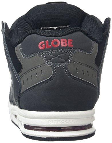 ... Zapatillas de Skateboarding para Hombre Gris (Grey Black Red) ... b98bcaba05703