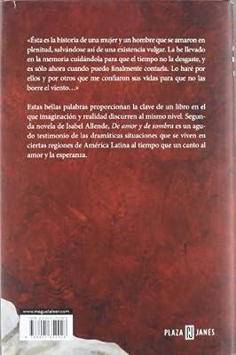 De amor y de sombra (Éxitos): Amazon.es: Allende, Isabel: Libros