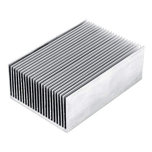 23 Fins Aluminum Heatsink,Acogedor High Power Aluminum Heatsink Heat Sink Cooling Fin for Computer, Power IC Power Electric Device, LED Light Devices etc,1006936mm