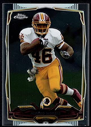 competitive price f3de4 ccd9a Amazon.com: 2014 Topps Mini Chrome #52 Alfred Morris ...