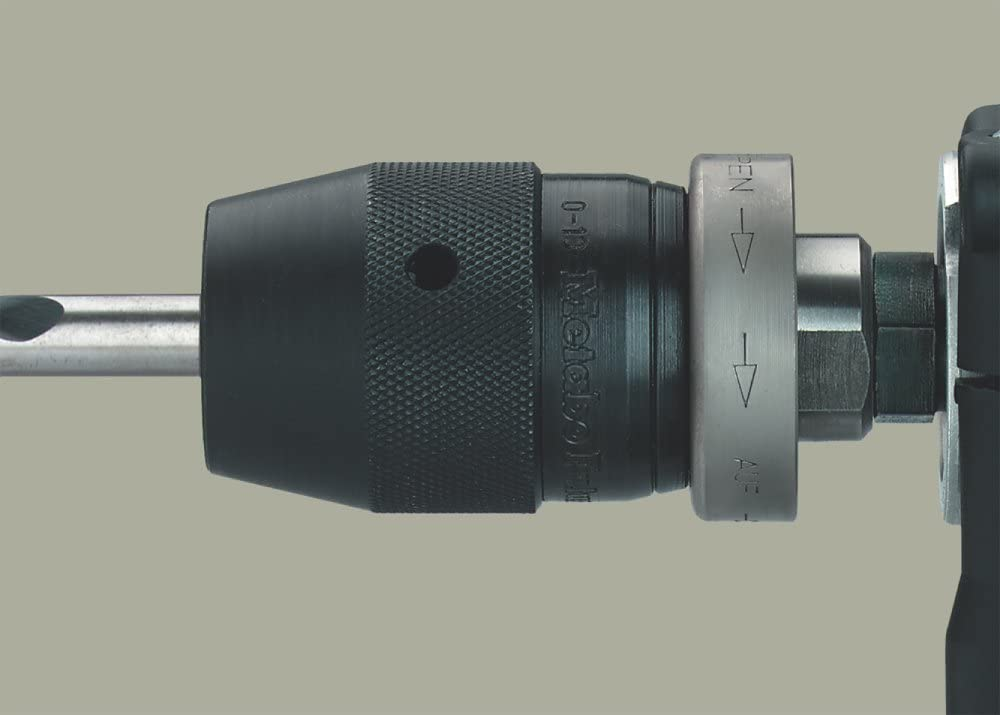 Metabo portabrocas de sujeci/ón r/ápida con adaptador