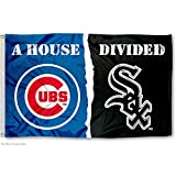 Chicago White Sox and Chicago Cubs House Divided Flag