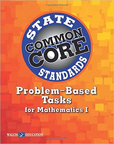 Book Common Core State Standards Problem-Based Tasks for Mathematics I