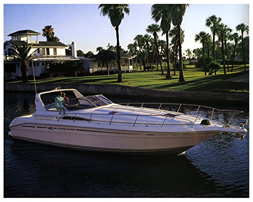 1993 Sea Ray 400 Express Cruiser Power Boat Factory (Sea Ray Cruiser)