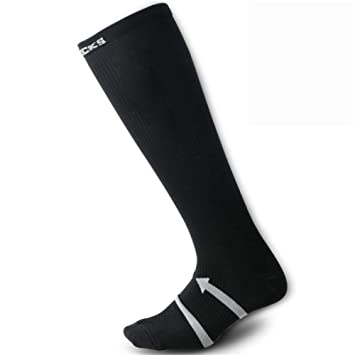 LMHZTMA Calcetines de esquí Delgados Calcetines de Tubo Alto Hombres Mujeres Senderismo Calcetines de Escalada en