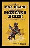 Montana Rides, Max Brand, 0515085715