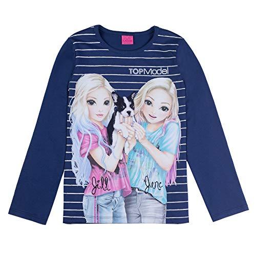Top model meisjes lange mouwen shirt Jill en jongen 85031