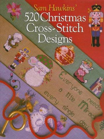 Sam Hawkins' 520 Christmas Cross-Stitch Designs - Free Christmas Ornament Patterns