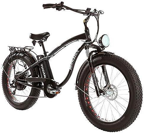 Monster 26 Limited Edition -Es el Fat Ebike - Marco Aluminio Hydro tb7005 - vorderfed erung - Ruedas 26: Amazon.es: Deportes y aire libre
