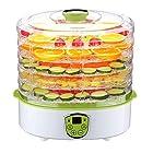 Dehydrator Machine, PowerDoF FD280B Food Dehydrator with 5 Adjustable Tray Drying System, Digital