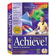HB Achieve Math & Science Grades 3rd-6th (PC and Mac)