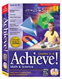 Software : Achieve! Math & Science Grades 3-6