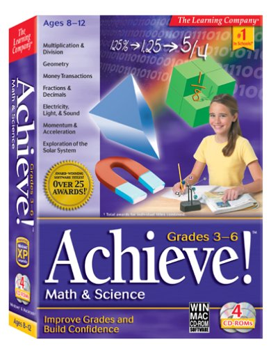 Achieve! Math & Science Grades 3-6 (Math Riverdeep)
