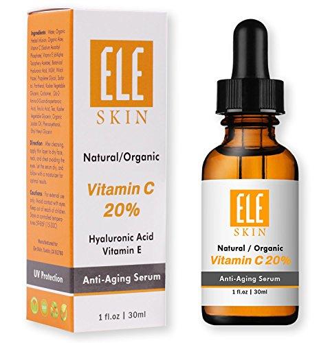 ELE SKIN Vitamin C 20% Serum by ELESKIN USA – Best Anti A...