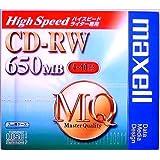 maxell CDRWH74MQ.1P データ用CD-RWメディア650MBハイスピードライター対応(4~10倍速)