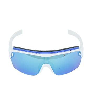adidas Brille ad05 ZONYK AERO Pro White Shiny 1600 Blue