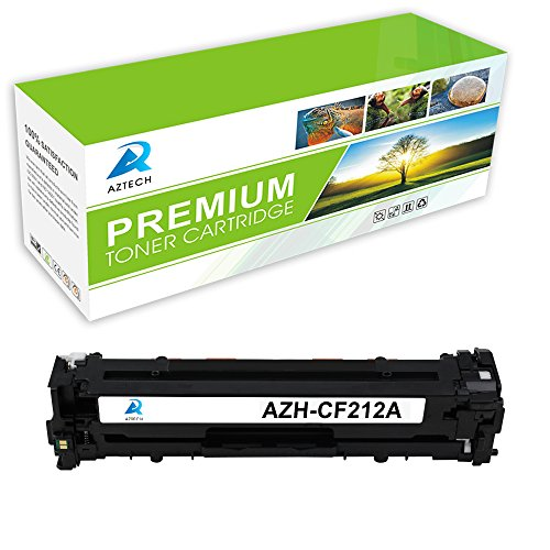 aztech-1-pack-replaces-hp-cf212a-yellow-toner-cartridge-1800-pages-yield-for-hp-laserjet-pro-200-col