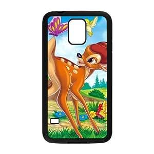 samsung_galaxy_s5 phone case Black Bambi TTY2271106