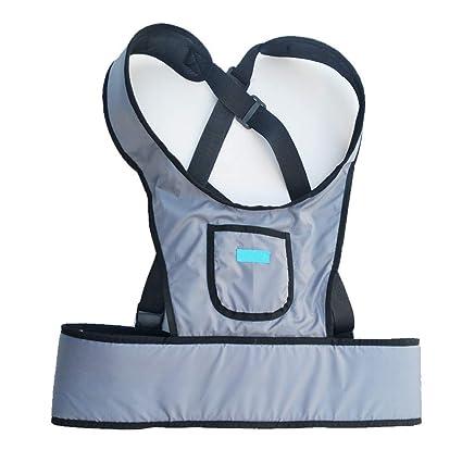 Cinturón de seguridad para silla de ruedas: ropa de sujeción fija, chaleco, asiento