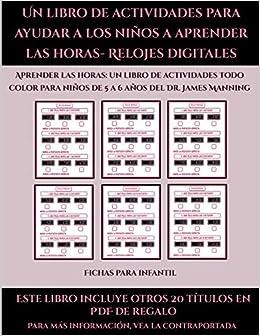 Fichas para infantil (Un libro de actividades para ayudar a ...