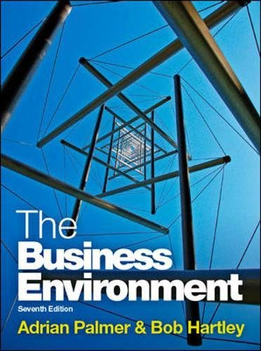 The Business Environment (UK Higher Education Business Management)