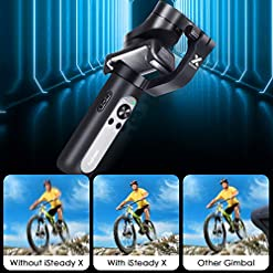 Hohem 2019 Smartphone Gimbal Stabilizer 3-Axis Handheld Gimble with Face Object Auto Tracking for iPhone Xs Max Xr X 8… Fdeals [tag]