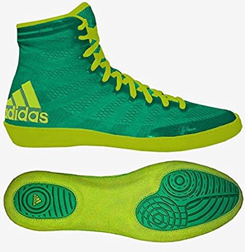 Adidas AdiZero Varner Wrestling Shoes - Flash Lime/Solar Yellow - (Michael Jordan Kids Costume)