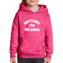 Xekia Anything for Selenas Hoodie For Girls - Boys Youth Kids