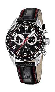 Candino 4429/3 - Reloj de caballero de cuarzo, correa de piel color negro