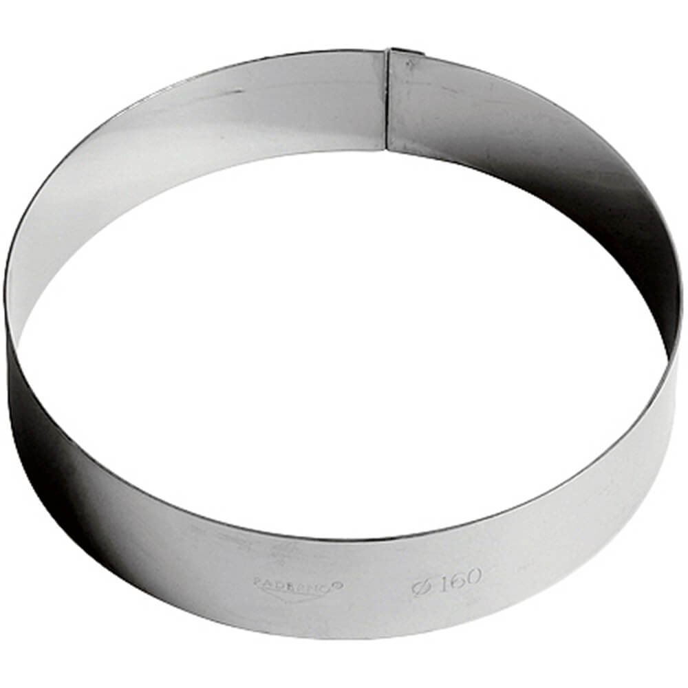 Pastry Ring Entremet in Stainless Steel Size: Dia 5 1/2