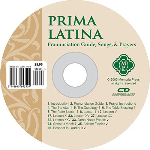 Prima Latina, Pronunciation CD