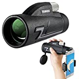 Monocular Telescope, Youngdo Monocular Scope 16X50 High Power for Adults Compact, with Smartphone Photography Adapter and Holder, Waterproof BAK4 Prism FMC Lens for Bird Watching Hunting Travelling