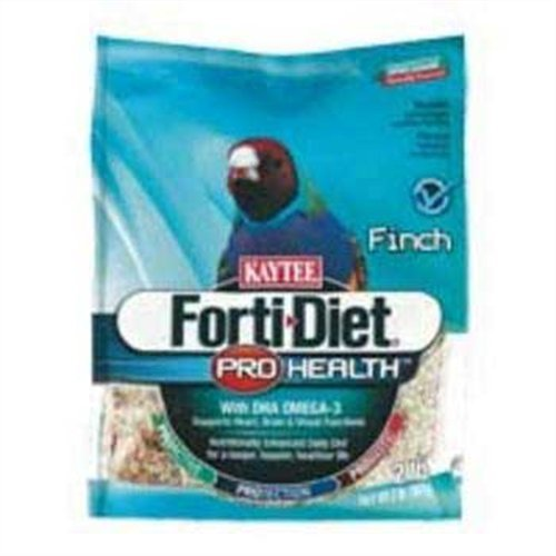 Kaytee Forti Diet Pro Health Food for Finch, 2-Pound, My Pet Supplies