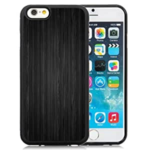 Beautiful Custom Designed Cover Case For iPhone 6 4.7 Inch TPU With Dark Wood Phone Case