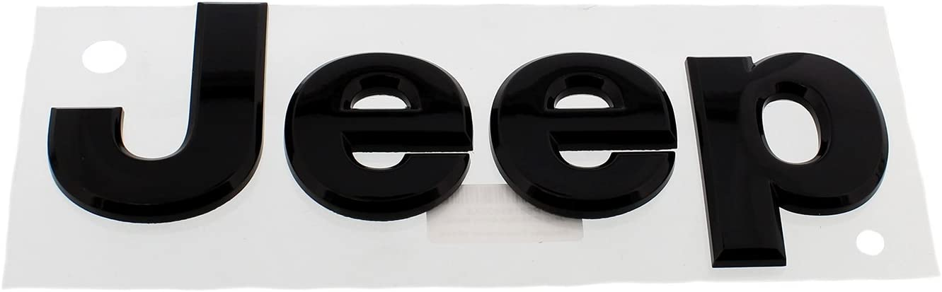 Black Coolsport Car Emblem Stickers Modified Head Cover Logo Rear Tailgate Letter Logo Fit Jeep Accessories