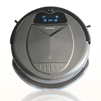 650 Robot aspirador con filtro HEPA, lámpara UV, Base de casa