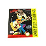Musiclily Alice Stainless Steel Folk Acoustic Guitar 1St E Strings , Light( Pack of 5)