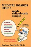 Medical Boards - Step 1 Made Ridiculously Simple, Carl, Andreas, 0940780593