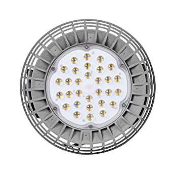 Campana Industrial LED UFO 150W Meanwell gris 4000k: Amazon.es ...