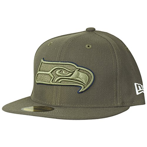 Seattle Seahawks New Era 5950 Hat Seahawks 59fifty Cap