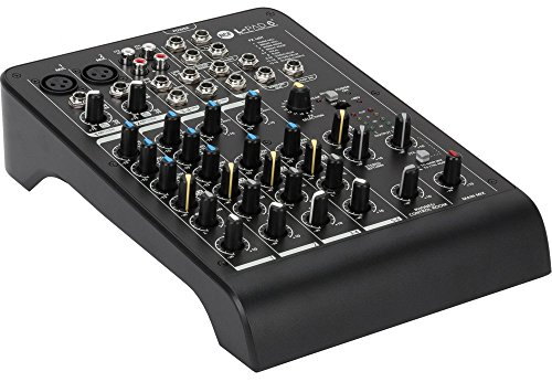 (RCF LIVEPAD6X 6-Channel Mixing Board with Compressor)