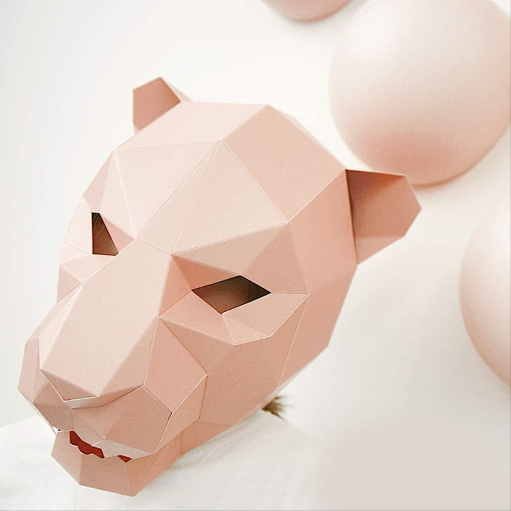 DIY: 3D ORIGAMI PANTHER IN TROPHY STYLE [FREEBIE] | archicouture LAB | 1000x1000