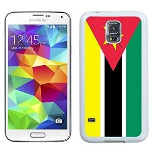 NEW Fashion Custom Designed Cover Case For Samsung Galaxy S5 I9600 G900a G900v G900p G900t G900w Mozambique Flag White Phone Case