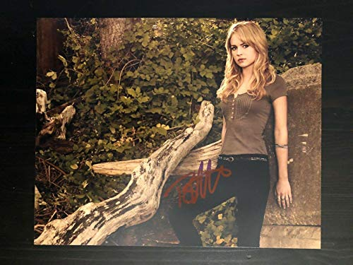 Britt Robertson - Signed Autograph 8x10 Photo-scream, Sexy, Hot, For The People